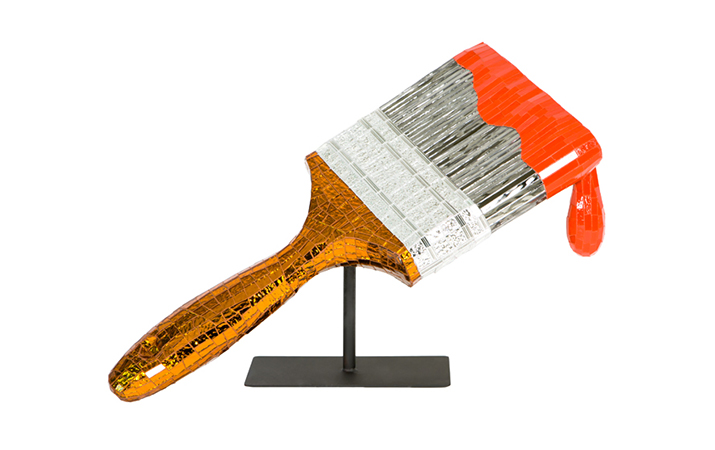 04 Jean Wells Paintbrush - 19 inches tall x 30 inches long x 12 inches wide