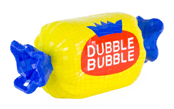 37 Jean Wells Dubble Bubble - 10.5 inches tall x 2 feet long x 8 inches wide