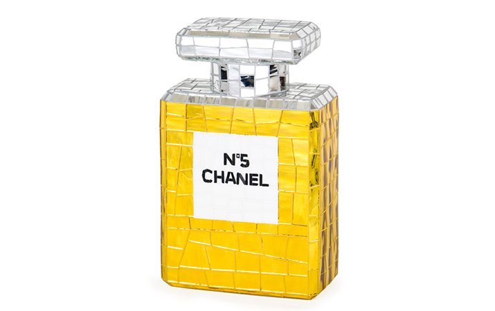 39 Jean Wells Chanel No. 5 - 13.5 inches tall x 8.5 inches wide x 4.5 inches deep